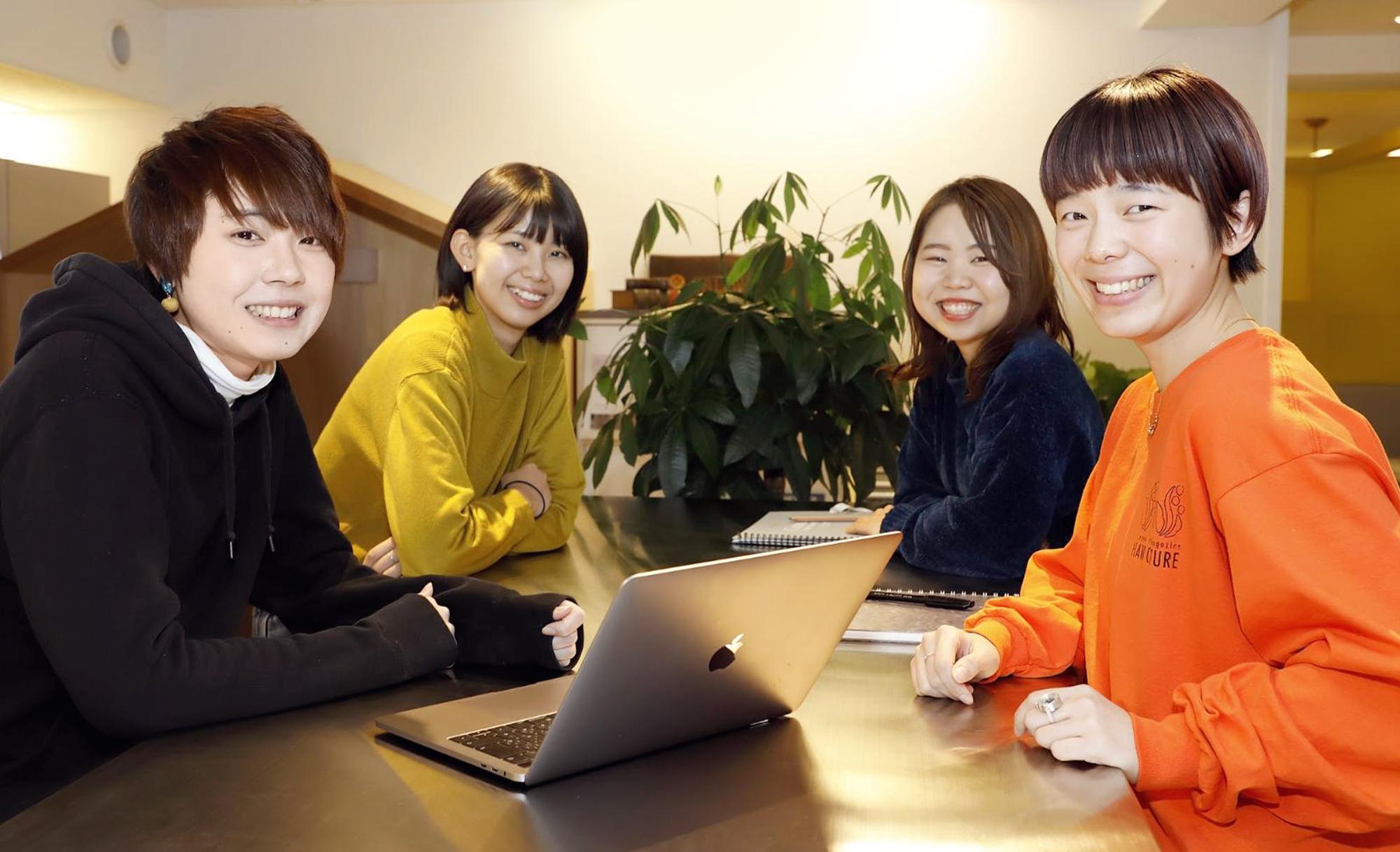 ホンネ座談会 02 新卒社員2019編